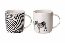 Beker met oor 36cl Animal Zebra