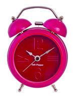 wekker roze klok 9 cm
