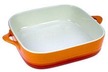 ovenschaal oranje vierkant cosy trendy
