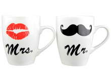 Koffie bekers MR & MRS