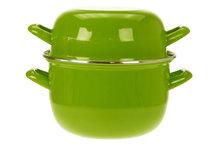 Mosselpan lime groen 1,2 kg Cosy&Trendy