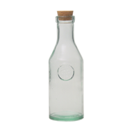Fles met kurk 1 liter Authentic