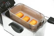 Friteusefilter voor bakmandje
