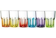 Set van 6 tumblers Luminarc Crazy Colors 40 cl