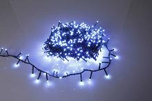 Kerstverlichting 16 meter LED witte lamp
