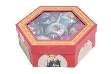Kerstballen 7 st in giftbox Frozen