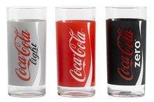 Frisdrankglazen Coca Cola 3-delig